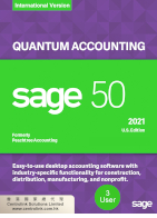 Sage 50 Manufacturing Accounting 製造業